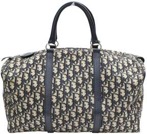 Christian Dior Vintage Blue Other Travel Bag