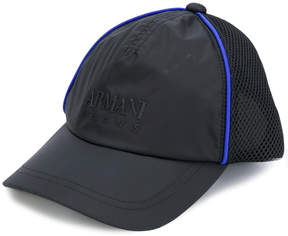 Armani Jeans embroidered baseball cap