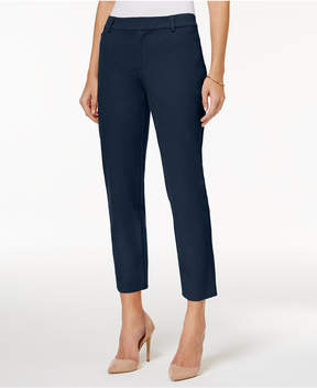 Charter Club Newport Slim Leg Cropped Pants, Created for Macy's