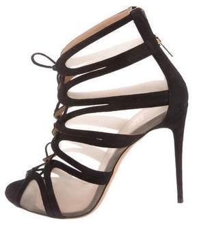 Salvatore Ferragamo Amber Lace-Up Sandals