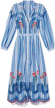 Temperley London Trelliage Shirtdress