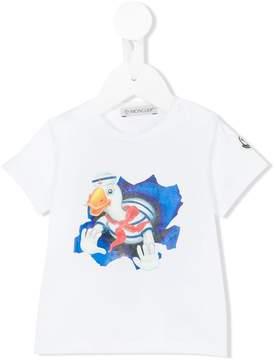 Moncler duck print T-shirt