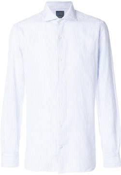 Barba striped dress shirt