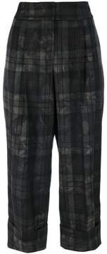 Antonio Marras cropped wide leg trousers
