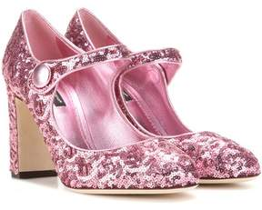 Dolce & Gabbana Sequinned pumps