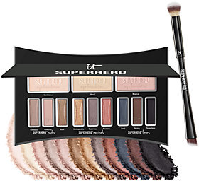 It Cosmetics Superhero Luxe Anti-Aging Eyeshadow Palette w/Brush