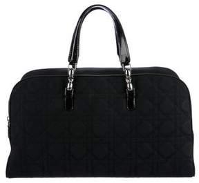 Christian Dior Cannage Nylon Handle Bag