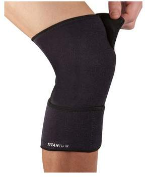 New Balance Titanium Ti22 Closed Knee Support, One Size, Black