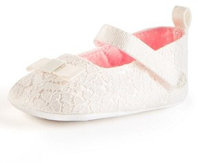 Marks and Spencer Baby Christening Cross Bar Shoes