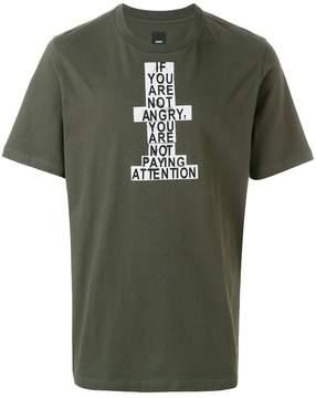 Oamc printed T-shirt