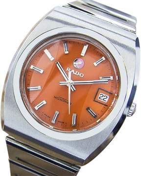 Rado Montana Stainless Steel Automatic Vintage 36mm Mens Watch c1970