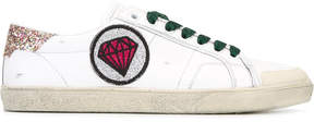 Saint Laurent Signature Court Classic SL/37 diamond patch sneakers