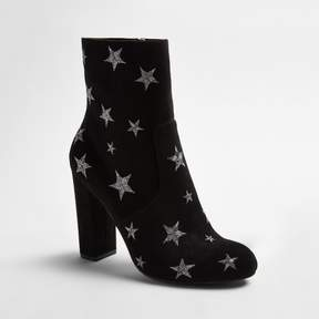 Mossimo Women's Corrine Embroidered Star Booties