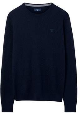 Gant Men's Blue Cotton Sweatshirt.