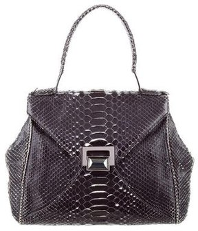 Kara Ross Python Flap Bag