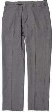 Fred Perry Houndstooth Flat Front Pants