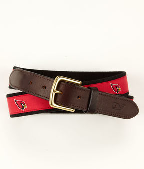 Vineyard Vines Arizona Cardinals Canvas Club Belt