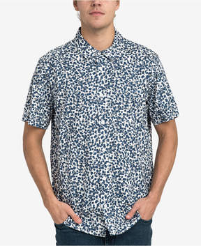 RVCA Men's Barrow Printed Button-Down Shirt
