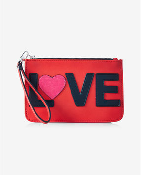Express Love Zip Up Wristlet
