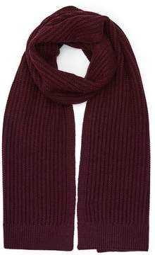 Reiss Selborne Ribbed Weave Scarf