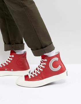 Converse Chuck Taylor All Star '70 Hi Sneakers In Red 159677C
