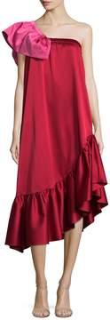 Edit Women's Bandeau Frill Dress