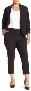 Atelier Luxe Swiss Dot Crop Pants (Plus Size)