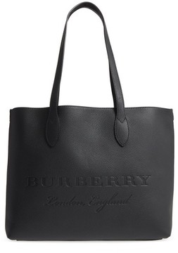 Burberry Remington Leather Tote - Black - BLACK - STYLE