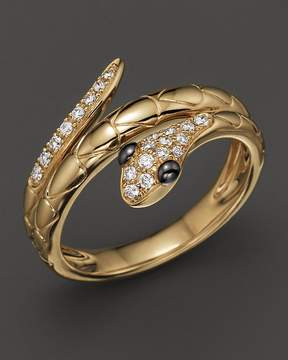 Bloomingdale's Diamond Snake Ring in 14K Yellow Gold, .15 ct. t.w.