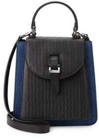 Floriana Leather Crossbody Bag