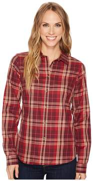 Fjallraven Ovik Flannel Shirt Women's Long Sleeve Button Up
