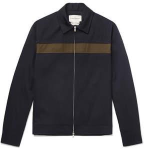 Oliver Spencer Buck Slim-Fit Striped Shell Bomber Jacket