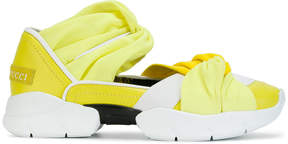 Emilio Pucci twisted gradient sneakers
