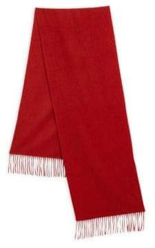 Saks Fifth Avenue COLLECTION Solid Cashmere Scarf