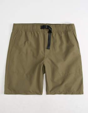 RVCA Arch Olive Mens Hybrid Shorts