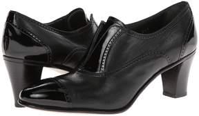 Gravati Cap Toe Mid-Heel High Heels