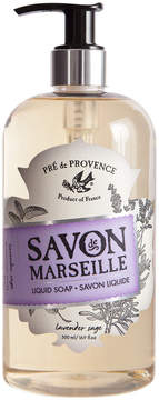 Pre de Provence Lavender Sage Liquid Soap by 16.9oz Liquid Soap)