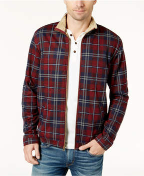Weatherproof Vintage Men's Plaid Fleece-Lined Jacket