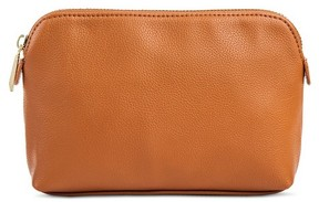 Merona Women's Faux Leather Medium Pouch
