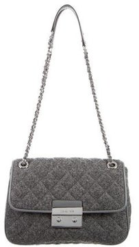 Michael Kors Sloan Wool Bag - GREY - STYLE