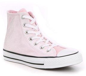 Converse Womens Chuck Taylor All Star Velvet Hi Top Sneakers