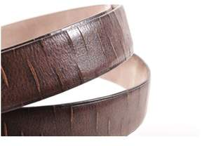 Brunello Cucinelli Pre-owned Brown Leather Slashed Belt.