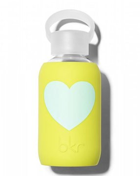 bkr Glass Water Bottle, Gigi Heart, 250 mL