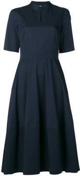 Peserico V-neck poplin dress