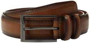 Perry Ellis Portfolio Wing Tip Edge Belt Men's Belts