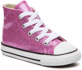 Converse Chuck Taylor All Star Glitter Toddler High-Top Sneaker - Girl's