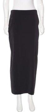 Brunello Cucinelli Silk Midi Skirt