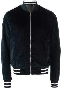 Paul Smith velvet bomber jacket