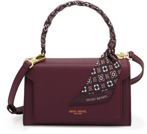 Henri Bendel Claremont Top Handle Scarf Satchel