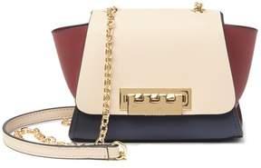 Zac Posen Eartha Colorblock Leather Crossbody Bag